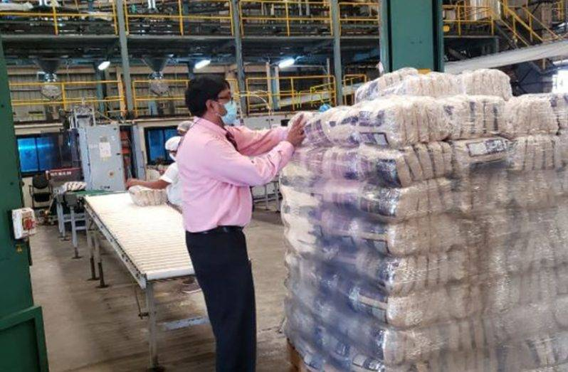 Enmore produces first batch of packaged sugar
