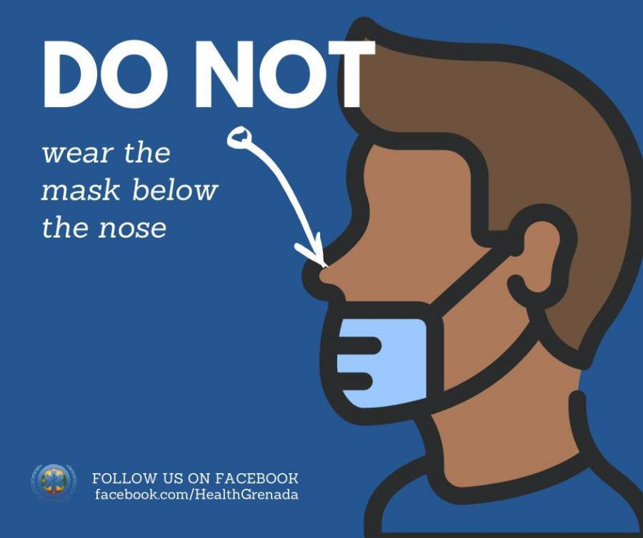 Cover your nose and mouth!