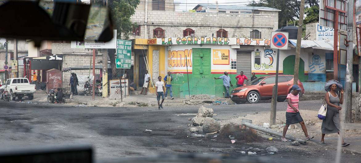 Spectre of unrest, violent repression looming over Haiti, warns UN rights office